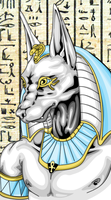 Anubis by tapeGFX