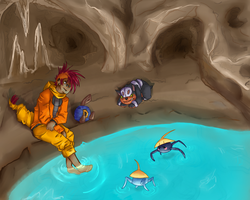 Randy on Cave 1 Lv2 by Contrast-Kitsune