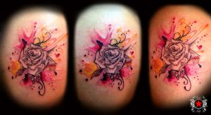 Rose Tattoo by Robert-Greg-Voulgari