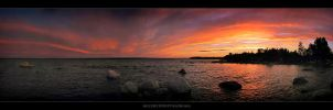 McCort Point Panorama by tfavretto