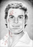 Michael C.Hall as Dexter by Ilojleen