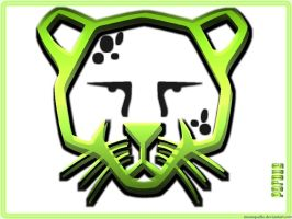 Pardus Wallpaper - Green by moonquelle