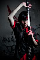 Saya, Blood C by AlexanderNVIDIA