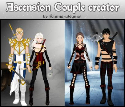 Ascension couple creator: Human by Rinmaru