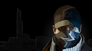 Aiden Pearce (Watch Dogs) by MrIDrawThings