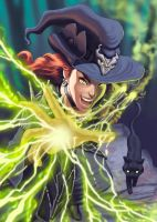 Ray poisoned witch by Guiloart