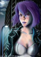 Ghost in the Shell - Motoko by cloud-dark1470