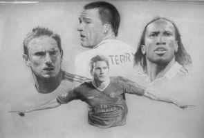 Chelsea Football FC by thartist29