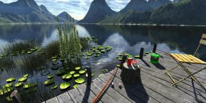 A Beautiful Day for Fishing 2 by fence-post