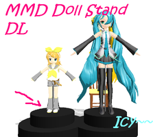 MMD Doll Stand DL by IcyBreeze8