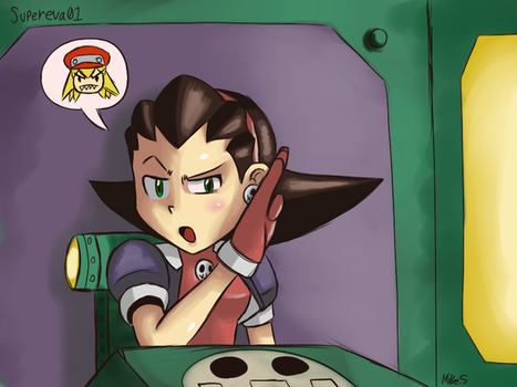 Tron Bonne Sketch 2 by supereva01