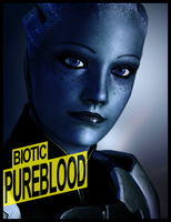 Liara T'Soni Ad by Incogneto45