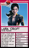 Trading Card - Lara Croft by jessiesheram