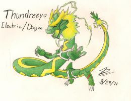 Fakemon- The Green Flash by dragonkitteh