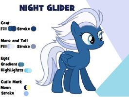 Night Glider Colour Guide by Alasata