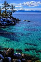 Tahoe's East Shore on a Winter Afternoon by sellsworth
