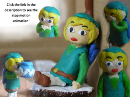 Link's Game Over: Another stop motion animation by Daboya
