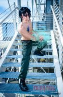 Gray Fullbuster Cosplay by DarthRey