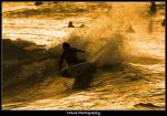 Golden Surf by manaphoto