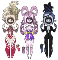 Xynthii Adopts: Crazy Hair: CLOSED by ObsceneBarbie