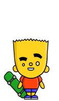 ToOn HeAd Bart by adsta
