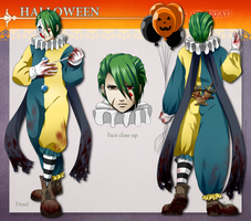 ToDA: Clown from Hell by HanuWabbit