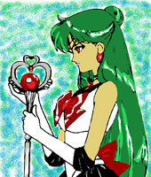 Sailor Pluto by SheWolfxAngel