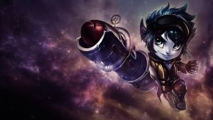 Rocketeer Tristana Wallpaper by iamsointense
