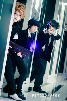 [ PSYCHO - PASS ] Dogs of Society by kurozone