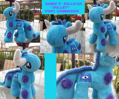 Monsters Inc 'Sulley' Pony Plush Commission by Satokit