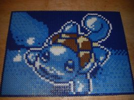 Squirtle Pixel Perler Bead by Spevial101