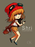 Shri as chibi by Shricka