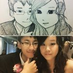 Cartoonised Portrait by samzhengpro