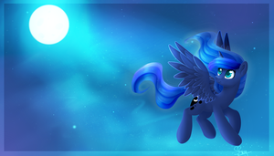 Princess Luna by SnowSky-S