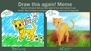 Draw this Again Meme by AmyFawkes