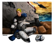 Commander Rex by Galeart