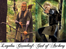 Legolas Greenleaf God of Archery by JDLuvaSQEE