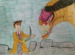 The Doctor vs Snake Jafar by Sparrow12592