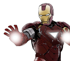 Iron man by simpsonsfan628