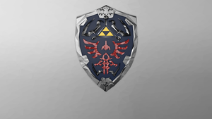 Hylian Shield - Low Poly - Textless by Kamaltmo