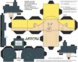 Arrow2: Oliver Queen Cubee by TheFlyingDachshund