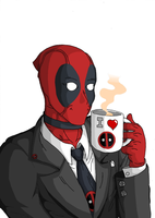 Late Night with Wade Wilson by GuilhermeSalles