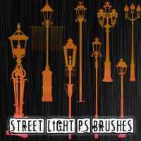 Street Light Brushes by petermarge