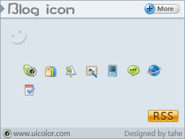Blog icon by tahestyle