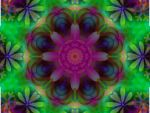 Deep Leaves Mandala by Sulfura