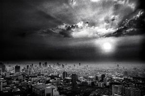 From Above Bangkok by palmbook