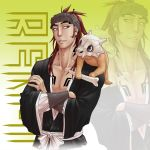 Poke Renji throw pillow by Zyephens-Insanity