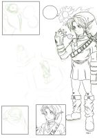 The Fabled Ocarina of Time - Example Page WIP by SiscoCentral1915
