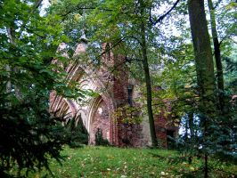 Gothic ruins III by Vrolok-stock