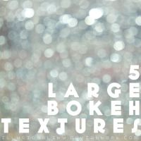5 large bokeh textures by illusionality